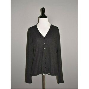MAX MARA Wool Silk Button Down Cardigan